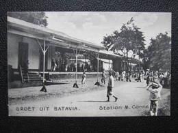 AK BATAVIA Station M. Cornelis Ca.1910 Indonesia Java  //  D*36176 - Indonesien