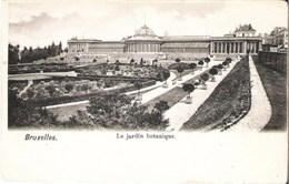 BRUXELLES - Le Jardin Botanique - Carte Précurseur N'ayant Pas Circulé - Bossen, Parken, Tuinen