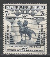 Dominican Republic 1955. Scott #464 (U) Trujillo Statue * - Dominicaine (République)