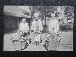 AK Groentenverkooper  Ca.1910 Indonesia Java  //  D*36182 - Indonesien