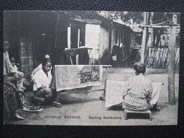 AK BATAVIA Sarong Batiksters  Ca.1910 Indonesia Java  //  D*36183 - Indonesien