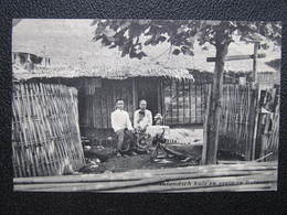 AK BATAVIA Inlandsch Huis En Gezin Ca.1910 Indonesia Java  //  D*36184 - Indonesien