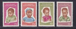 CENTRAFRICAINE N°   37 à 40 ** MNH Neufs Sans Charnière, TB (D8294) Enfants -1964 - República Centroafricana