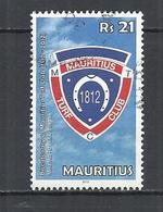 MAURITIUS 2012 - TURF CLUB BICENTENARY - - POSTALLY USED OBLITEE GESTEMPELT USADO - Maurice (1968-...)