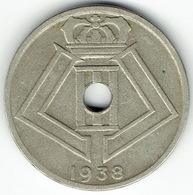 Belgium, 25 Centimes 1938 (NL-FR) - 1934-1945: Leopold III