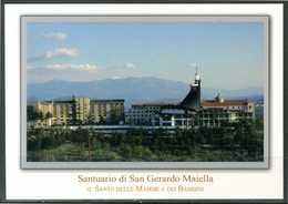MATERDOMINI (AV) - Santuario S. Gerardo Maiella - Cartolina Non Viaggiata. - Iglesias Y Catedrales