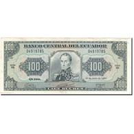 Billet, Équateur, 100 Sucres, 1991-06-21, KM:123Aa, TTB+ - Equateur