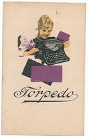 MACHINE A ECRIRE - TORPEDO - Publicité