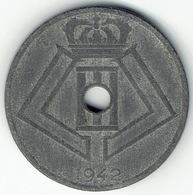 Belgium, 25 Centimes 1942 (FR-NL) - 03. 25 Centiem