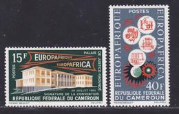 CAMEROUN N°  379 & 380 ** MNH Neufs Sans Charnière, TB (D8297) EUROPAFRIQUE - 1964 - Cameroun (1960-...)