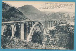 8me MERVEILLE DU DAUPHINE - Grand Viaduc Sur La Roizonne, Près LA MURE (animation) - La Mure
