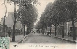 58   IMPHY  :  RUE  PRINCIPALE  . - France