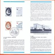 Belgium België Postfolder 1978 Nr. 7 1905/1906 Onderwijs Gent - Documents De La Poste