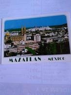 México Mazatlán Panoramic View With Church - Mexico