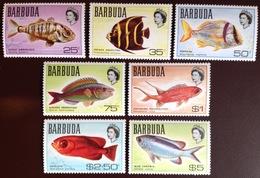 Barbuda 1968 Fish From Set MNH - Oiseaux
