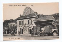 SAINT JEANNET (06) - LA GARE - LIGNE DU SUD - Sonstige Gemeinden
