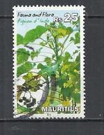 MAURITIUS 2014 - PIGNON D'INDE - POSTALLY USED OBLITERE GESTEMPELT USADO - Maurice (1968-...)