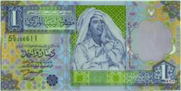 Libya 1 Dinar (P64) 2002 Sign 4 -UNC- - Libye