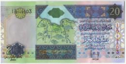 Libya 20 Dinars (P67) Sign 7 -UNC- - Libye