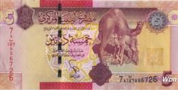 Libya 5 Dinars (P77) 2011 -UNC- - Libye