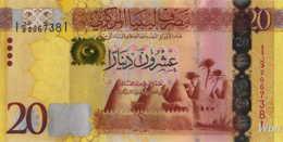 Libya 20 Dinars (P79) 2013 -UNC- - Libye