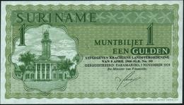 SURINAME - 1 Gulden 01.11.1974 UNC P.116 D - Surinam