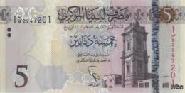 Libya 5 Dinars (P81) 2015 -UNC- - Libya