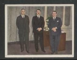 WW II Zigaretten Sammelbild 6,2 X 4,8 Cm , Kampf Um Das Dritte Reich Nr. 172 : Adolf Hitler , Hermann Göring , Frick. - Albums & Catalogues
