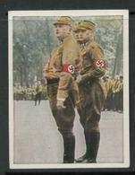 WW II Zigaretten Sammelbild 6,2 X 4,8 Cm , Kampf Um Das Dritte Reich Nr. 58 : SA Männer , Stabschef Röhm . - Albums & Catalogues