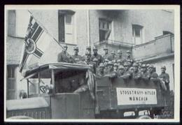 WW II Sammelbild Nr. 25 NSDAP Deutschland Erwacht : Stoßtrupp Hitler München 1923. - Germany