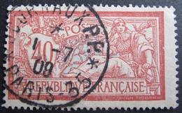 DF50500/132 - TYPE MERSON - N°119 ☉ - SUPERBE CàD PARIS - 35 JOURNAUX PP Du 1 JUILLET 1909 - 1900-27 Merson