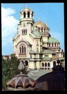 C504 BULGARIA - SOFIA - LE DOME-MONUMENT ALEXANDRE NEVSKI / CATHEDRAL / CATTEDRALE 1979 - Bulgaria