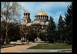 C506 BULGARIA - SOFIA - LE DOME-MONUMENT ALEXANDRE NEVSKI / CATHEDRAL / CATTEDRALE - Bulgaria