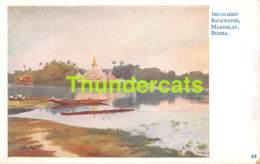 CPA IRRAWADDY BACKWATER MANDALAY BURMA - Myanmar (Burma)