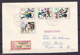 DDR - 1966 - Michel Nr. W Zd 174+1239/40 - Einschreiben - DDR