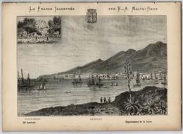 1897 Tout Sur Le Département De La CORSE 48 Pages Dont Gravures Et Carte Géo La France Illustrée Par Y.A. Malte-Brun - Géographie