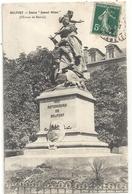 """BELFORT - STATUE """" QUAND MEME """" OEUVRE DE MERCIE . CARTE AFFR SUR RECTO LE 18-4-1908 - Belfort – Siège De Belfort"""