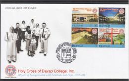 Filippine Philippines Philippinen Pilipinas 2008 Baguio Teachers Camp, Caparas, Tourist Spots, 7 Stamps USED (see Photo) - Filippine