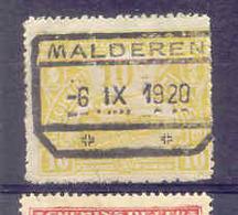 B815 Belgie Spoorwegen Met Stempel MALDEREN - Chemins De Fer
