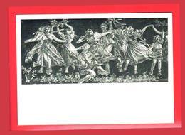 Adolf Zabransky Filles Danse Violoniste Violon Tresse Fille Garçons Couronne 1979 Echarpe - Danza