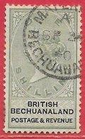 Bechunaland N°16 1S Vert & Noir 1887 (BECHUANALAND 2x SP 90) O - Bechuanaland (...-1966)
