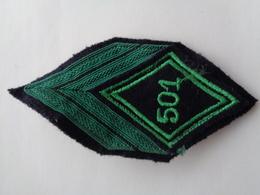 Ecusson Armée Françaies Grand Losange 501 - Escudos En Tela