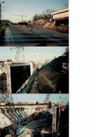 Antoing: Avancement Des Travaux Pour Le TGV 1994, 45 Photos - Vieux Papiers
