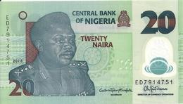 NIGERIA 20 NAIRA 2018 UNC P New - Nigeria
