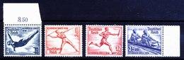 A5802) DR Olympia Mi.610, 612, 613 Und 615 ** Unused MNH - Deutschland