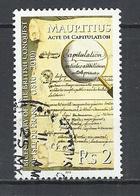 MAURITIUS 2010 - BRITISH CONQUEST BICENTENARY - POSTALLY USED OBLITERE GESTEMPELT USADO - Maurice (1968-...)