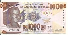 GUINEE 1000 FRANCS 2015 UNC P 48 - Guinea
