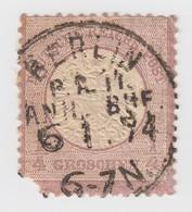 REICH  1/4 G N° 14  BERLIN   C4 - Allemagne