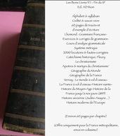 Les Bons Livres N°1 - Fin Du 19° Ed. AD Rion : Alphabet & Syllabain/Civilité & Savoir-vivre-60 Pages De Tracés/Lhomond : - Encyclopédies