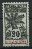 Haut Senegal Et Niger (1906) N 7 (o) - Opper-Senegal En Niger (1904-1921)